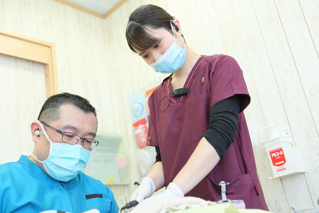 歯科助手の業務