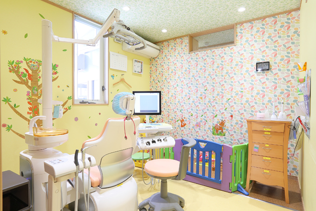 キッズルーム付き診療室
